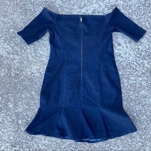 Guess Denim Blue Dress RN# 62136